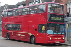 National Express West Midlands Transbus Trident 2/Transbus ALX400 4566 (BU04 BHY) (Yardley Wood) (john-s-91) Tags: nationalexpresswestmidlands transbustrident2 transbusalx400 4566 bu04bhy solihull route76