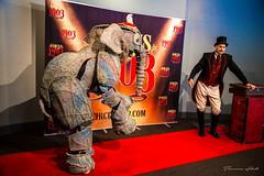 Circus 1903 (Theresa Hall (teniche)) Tags: circus1903 circus 1903 ringmaster show nikon nikond750 theresahall theresa canberra 2016 australia canberraaustralia canberratheatre theatre perform performance act elephant