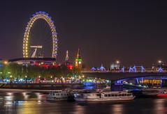 Westminster (aurlien.leroch) Tags: london londres england cityscape londoneye bigben westminster night longexposure nikon d3000