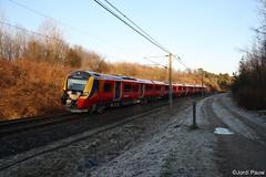 South West Trains 707008 Wildenrath (Jordi Pauw) Tags: thameslink south west trains 707008 engeland verenigd koninkrijk reizigers testtrein testring wildenrath duitsland canon 1000d