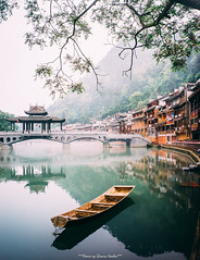 Nature light ... (tuanduongtt8018) Tags: nature holiday travel traveldestination boats reiver sonya7 china old street traditional 28mm carl zeiss