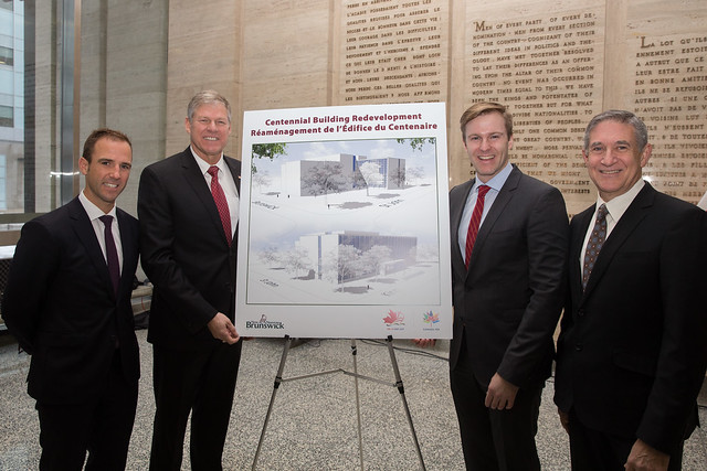 Centennial Building renovation and new courthouse plans revealed / Dévoilement des plans pour la rénovation de l'édifice du Centenaire et la construction d'un nouveau palais de justice