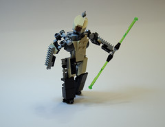 The Ronin (Faber Mandragore) Tags: lego moc ronin melee weapon military mech mecha drone droneuary 2017