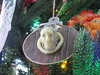Jacob Marley Christmas Ornament Dec 2016 (ianulimac) Tags: charles dickens christmascarol jacob marley dead ghost chain knocker door ebeneezerscrooge partner glow pale light green night wrapper eyes stare business sculpt head face molded clay ornament tree christmastree coffin death specter grave modeling sculpey home made craft art