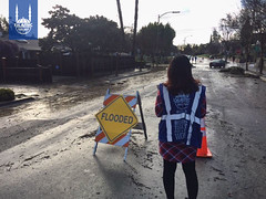 Islamic Relief USA's disaster response team in California responding to the Oroville Dam Emergency
