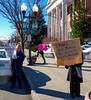 Protestors rally against ACA repeal in downtown Klamath Falls, Oregon (ex_magician) Tags: protestors acarepeal downtown klamathfalls oregonrally acc obamacare protest moik photo photos picture pictures image interesting lightroom adobe adobelightroom courthouse