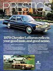 1979 Chrysler LeBaron Sedan (Canadian Ad) (aldenjewell) Tags: 1979 chrysler lebaron sedan canada ad