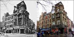 Charing Cross Road`1976-2017 (roll the dice) Tags: london w1 westend soho redlight westminster nostalgia retro old bygone comparison streetfurniture architcture fashion corner shops shopping chinatown parade rain wet people londonist porn gay strip oldandnew pastandpresent hereandnow sad mad pretty canon tourism changes collection urban england uk art classic artnouveau baroque harmony windows frdvan victorblake peep boozer pub theatre tea coffee italian sale bargain trees extention seventies chimney gamble
