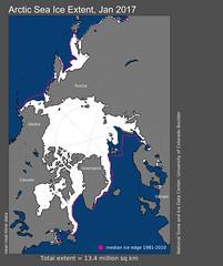 Capa de hielo en Ártico y Antártico, en mínimos históricos: NOAA (conectaabogados) Tags: antártico ártico capa hielo históricos mínimos noaa