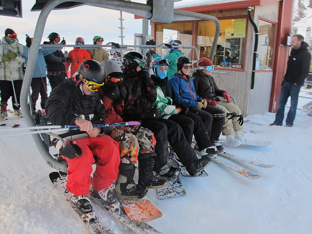 First chair of season 2013