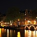 the capital at night, Amsterdam, the Netherlands
