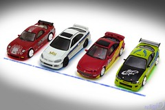 1-64_Fast_Furious_Eclipse_RX-7_Race_4 (Sigi D) Tags: white honda eclipse brian fast racing danny 164 civic yamato mazda rx7 acura integra oconnor mitsubishi edwin champions dominic furious typer diecast moviecar ertl fastfurious toretto sigid