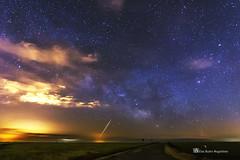Estrella fugaz (PITUSA 2) Tags: carretera viento burgos frio castillayleon vialactea estrellafugaz sasamon esrellas pitusa2 elsabustomagdalena