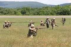 The Marines in Action (Itinerant Wanderer) Tags: pennsylvania airshow worldwarii reenactors berkscounty midatlanticairmuseum