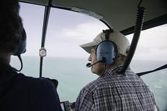 The Pilot. (Lance Camp) Tags: ocean portrait radio florida pov aerial helicopter treasurecoast tamron2470mmf28 nikonflickraward lancecamp nikond610
