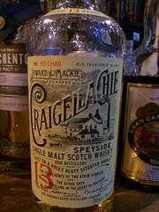 Craigellachie 13yo 46% Edward & Mackie (eitaneko photos) Tags: tokyo bottle october edward single mackie whisky cl 46 malt 2014 craigellachie 13yo