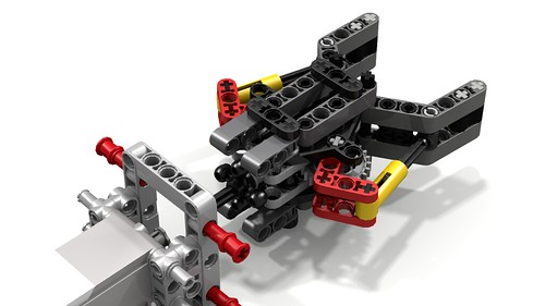Lego Robotic Gripper by Sophie, with EV3 Medium Motor detached