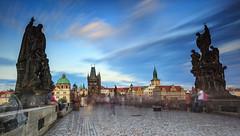 Charles Bridge - Prague (rolenf) Tags: czech prague baroque charlesbridge vitavariver