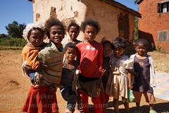 Antsirabe village children (Phil Walker Photo) Tags: travel family people kids children village group posed local ethnic madagascar wayoflife antsirabe malagasy