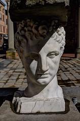 Imola (Renato Morselli) Tags: imola sculpture marble marmo bianco faccia testa