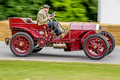 Mercedes 60hp GV602 (Explored #292 11th July 2015) (John Ambler) Tags: car festival club speed john mercedes climb hill photographic historic photographs graham fos gareth 60hp 188 ambler 2015 goowood johnambler garethgraham gv602
