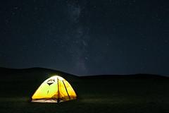 galaxy (Ruikexi) Tags: light mountain glass night dark stars tent galaxy