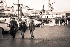 v&a waterfront meander35 (WITHIN the FRAME Photography(3 Million views tha) Tags: street people sepia asian three waterfront harbour capetown tourists eos6d