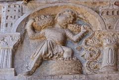 Verona, The Basilica of San Zeno (Glass Angel) Tags: italy church outside basilica verona porch veneto sanzeno basilicaofsanzeno laboursofthemonth basilicaofsanzenomaggiore unescoworldheritagelist2000 maestronicolo1138