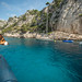 Dog on a boat // Cassis @ France