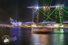Marina Bay Sands Laser Shows (catchlight101 (Des)) Tags: show marina bay laser sands catchlight101