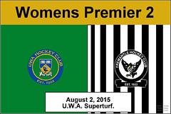 Premier Womens 2 UWA Vs Freo_ (1) (Chris J. Bartle) Tags: 2 hockey club university australia womens western wa fremantle premier freo uwa