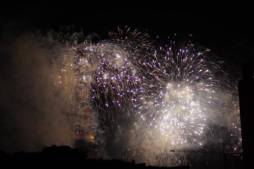Feux d'artifice - Paris 14 juillet 2015