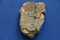 Babylonian map of the world, about 700 - 500 BCE (1) (Prof. Mortel) Tags: london britishmuseum mesopotamia babylonia