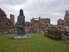The Holy Island of Lindisfarne (penlea1954) Tags: uk england castle boats island coast aidan saints holy northumberland celtic christianity cuthbert tidal lindisfarne priory causeway eadfrith eadberht