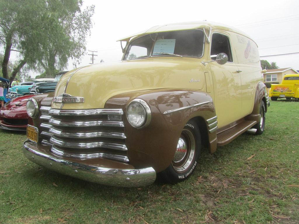 Truck 1949 chevy panel truck : The World's Best Photos of 1949 and panel - Flickr Hive Mind