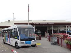 Harbour bus (Coco the Jerzee Busman) Tags: uk islands coach pointer nimbus ct solo jersey plus alexander dennis sr dart channel caetano enviro optare plaxton libertybus