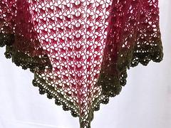 20161208_160719 (tannie) Tags: amsterdam amsterdamzuidoost colour crochet fun goudenleeuw hobby merino nederland noordholland shawl southbayshawl zuidoost green pink roze tulip