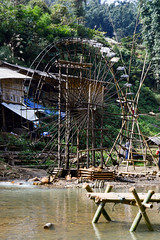 (ola_alexeeva) Tags: сапа каткат вьетнам sapa catcat vietnam noth nature water waterfall lover amazing водяное колесо wheel