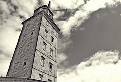 La Coruña (kadege59) Tags: torredehércules lacoruña nikon nikond3300 nikkor españa spain spanien lighthouse atlantic sea seascape building tower torre wow sky clouds holidays