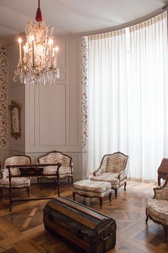 """Chambre """"à l'indienne"""", Château de Chambord"""