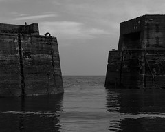 Craster Harbour Entrance