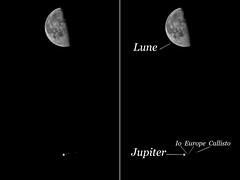 Lune + Jupiter + Noms (Robinl81) Tags: lune moon astro nuit night jupiter conjonction