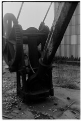 Mirfield Station - Goods Crane (martin.n.gibson@btinternet.com) Tags: mirfield railway goods crane
