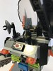 Assault Suit (KGoodlow) Tags: lego mecha mech guns missiles orange robot walker