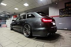 Audi A6 C7 - ADV5.3 M.V2 CS (ADV1WHEELS) Tags: audi a6 c7 avant wagon luxury car salt bae adv1 wheels forged rims bagged airride accuair poland show