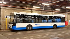 GVB Amsterdam VDL citybus number 1452 at busgarage Noord (Amsterdam-North) (Erwin's photo's) Tags: gvb amsterdam vdl citybus number 1452 busgarage noord north