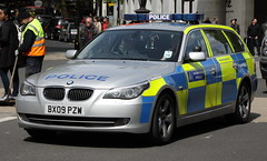 BX09PZW / ATB BMW 530d Touring of the Met Police in London (Ian Press Photography) Tags: police metropolitan met london 999 emergency service services bx09pzw atb bmw 530d touring