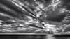 cela se calme (glookoom) Tags: bw blackandwhite gris noiretblanc nuage contraste cloud soleil monochrome mer paysage plage lumière light landscape sea seascape france palavas