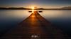 Last rays of the sun (Callegher Marco - The beauty in my eyes) Tags: sun sunstar lake italy lago viverone piemonte biella longexposure