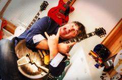 seasoned heavyrocker (www.tccave.com) Tags: guitarplayer rockgretsch humour heavyrock